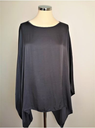 STARS Collection Batwing Top Damen Grau