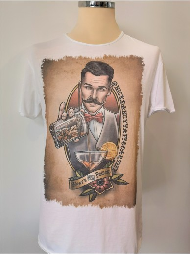 Tattoo T-Shirt Herren Poison