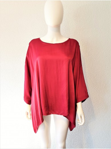 STARS Collection Batwing Top Damen Rot